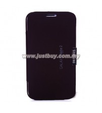 Samsung Galaxy Note 2 N7100 VIP Flip Case - Black