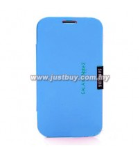 Samsung Galaxy Note 2 N7100 VIP Flip Case - Blue