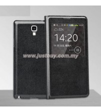 Samsung Galaxy Note 3 Neo OEM S-View Flip Cover - Black