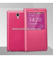 Samsung Galaxy Note 3 Neo OEM S-View Flip Cover - Pink