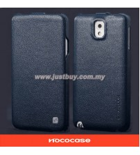 Samsung Galaxy Note 3 HOCO Premium Genuine Leather Case - Blue