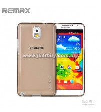 Samsung Galaxy Note 3 REMAX Super Pudding TPU Case - Grey