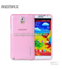 Samsung Galaxy Note 3 REMAX Super Pudding TPU Case - Pink