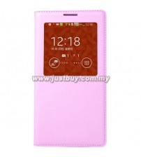 Samsung Galaxy Note 3 OEM S-View Flip Cover - Pink