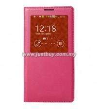 Samsung Galaxy Note 3 OEM S-View Flip Cover - Rose Pink