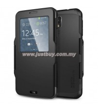 Samsung Galaxy Note 3 Slim Armor View Case - Black