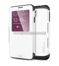 Samsung Galaxy Note 3 Slim Armor View Case - White