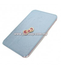 Samsung Galaxy Tab 7.0 P6200 P3100 Hello Kitty Case - Blue
