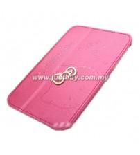 Samsung Galaxy Tab 7.0 P6200 P3100 Hello Kitty Case - Pink