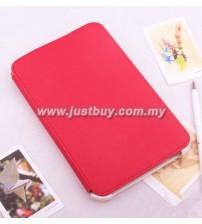 Samsung Galaxy Tab2 7 P3100 BELK Protective Microfiber Slim Case - Red