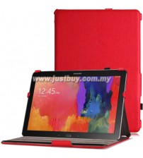 Samsung Galaxy Note PRO 12.2 / Tab PRO 12.2 Premium Leather Case - Red