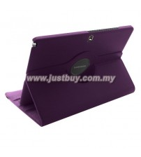 Samsung Galaxy Note PRO 12.2 / Tab PRO 12.2 Rotating Leather Case - Purple