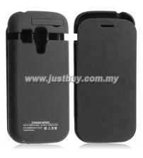 Samsung Galaxy S3 Mini 2000mAh External Battery Flip Case