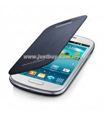 Samsung Galaxy S3 Mini OEM Flip Cover - Black