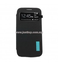 Samsung Galaxy S4 AUC S-View Flip Cover - Black