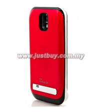 Samsung Galaxy S4 3200mAh Battery Case - Red