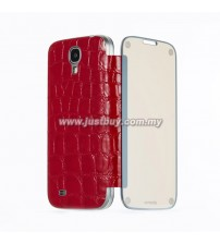 Samsung Galaxy S4 Anymode Me In Mirror Folio Cover - Red