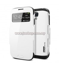 Samsung Galaxy S4 Slim Armor View Case - Infinity White