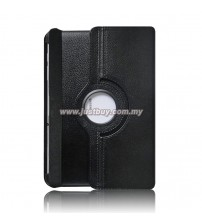 Samsung Galaxy Tab 10.1 P5100 & P7500 360 Degree Rotation Leather Case - Black