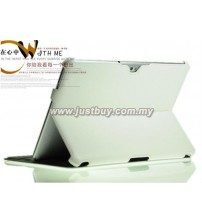 Samsung Galaxy Tab 10.1 P5100 & P7500 Premium Slim Leather Case - White