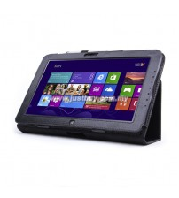 Samsung ATIV Smart PC XE500T Leather Case - Black