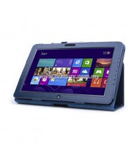 Samsung ATIV Smart PC XE500T Leather Case - Blue