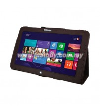 Samsung ATIV Smart PC XE500T Leather Case - Brown