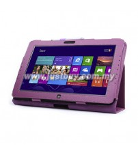Samsung ATIV Smart PC XE500T Leather Case - Purple
