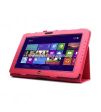 Samsung ATIV Smart PC XE500T Leather Case - Red