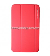 Samsung Galaxy Tab 3 7.0 Book Cover - Red