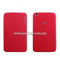 Samsung Galaxy Tab 3 8.0 Book Cover - Red