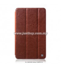 Samsung Galaxy Tab PRO 8.4 HOCO Crystal Series Leather Case - Brown