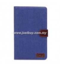 Samsung Galaxy Tab S 8.4 T700 Jeans Design Stand Case - Blue