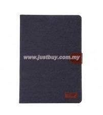 Samsung Galaxy Tab A 9.7 Jeans Wallet Case - Dark Blue