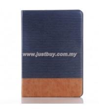 Samsung Galaxy Tab A 9.7 Premium Leather Case - Dark Blue