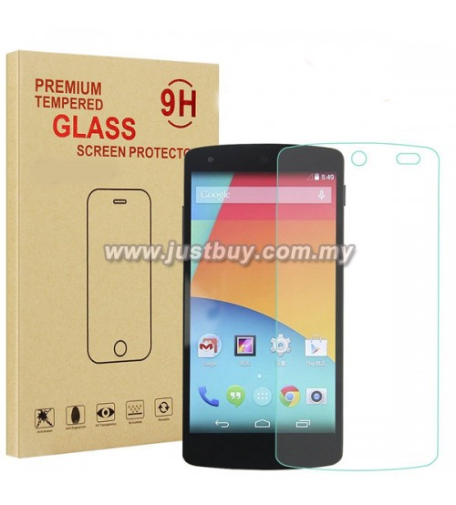 Google Nexus 5 9H Tempered Glass Screen Protector