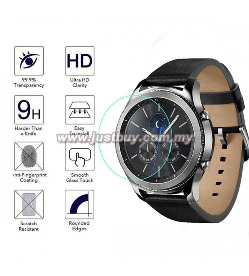 Samsung Gear S3 Classic / S3 Frontier Premum Tempered Glass