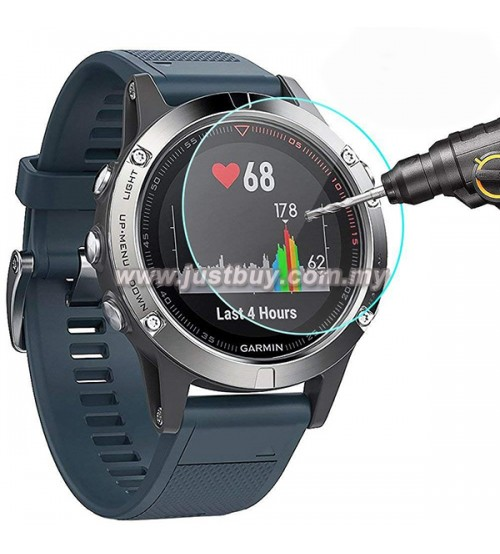 Garmin Fenix 5 / 5 Plus Premium Tempered Glass