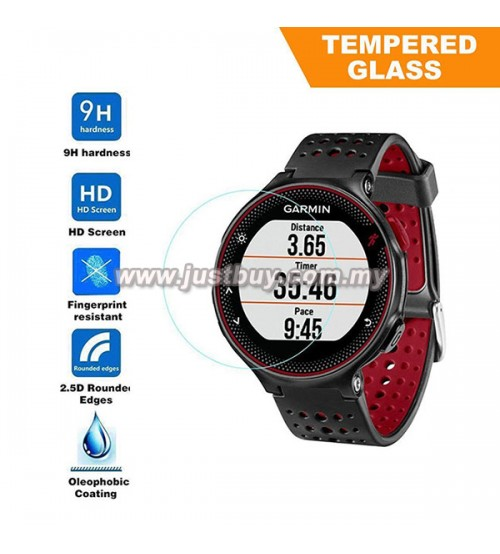 Garmin Forerunner 225 / 235 Smartwatch Premium Tempered Glass