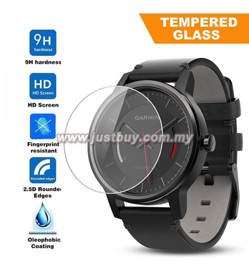 Garmin Vivomove Smartwatch Premium Tempered Glass