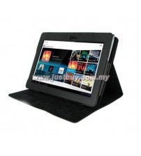 Sony Tablet S1 360 Degree Rotation Leather Case - Black