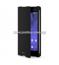 Sony Xperia C3 Style Cover Case - Black