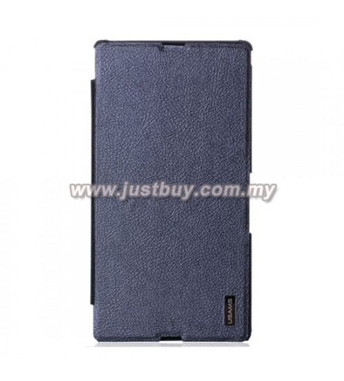 Sony Xperia Z Ultra USAMS Slim Flip Case - Black