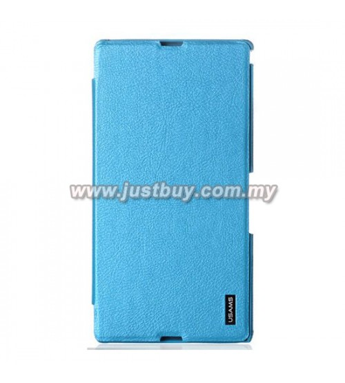 Sony Xperia Z Ultra USAMS Slim Flip Case - Sky Blue