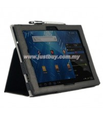 Sony Xperia Tablet Z Folio Leather Case - Black