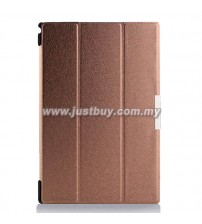 Sony Xperia Tablet Z2 Ultra Slim Case - Brown