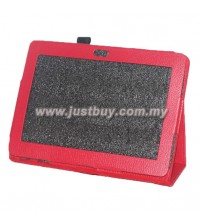 Sony Xperia Tablet S Leather Case - Red