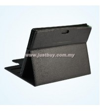 Sony Xperia Tablet S Premium Leather Case - Black