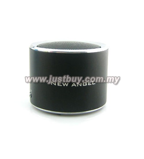 Super Mini MP3 & FM Speaker - Black
