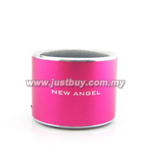 Super Mini MP3 & FM Speaker - Pink